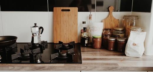 keuken percolator snijplank